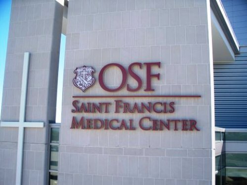 exterior building sign St Francis Medical Center